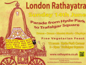 A promotional flyer for Ratha-Yatra. Credit: rathayatra.co.uk