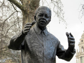 A statue of Nelson Mandela in Westminster, London. Credit: Wikipedia.