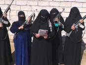 Female Al Khansa Brigade IS