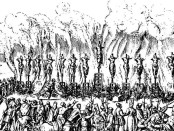 Example of Spanish Inquisition violence in 16th Century Valladolid. Credit: Jan Luykens.