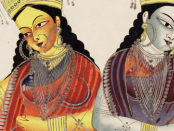 An example of Kalighat artowrk. Credit: Bodleian library.