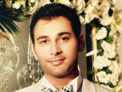 Shayan Mazroei, 22, died after being stabbed outside a California bar. Credit: Justice for Shayan Mazroei Facebook page.