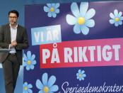 Sweden Democrat leader Jimmie Åkesson. Credit: Johan Wessman/News Øresund.
