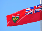 The flag of Ontario. Credit: abdallahh/Flickr.