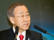 UN Secretary-General Ban Ki-moon. Credit: Wikipedia