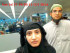 FILE PHOTO: Tashfeen Malik and Syed Farook are pictured passing through Chicago's O'Hare International Airport in this July 27, 2014 handout photo